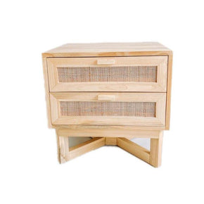 Malibu 2 Drawer Side Table