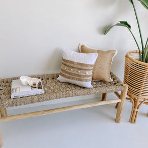 Seagrass Bench Seat