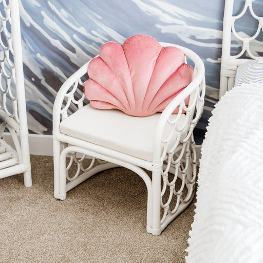 Sirena Mermaid Chair in White