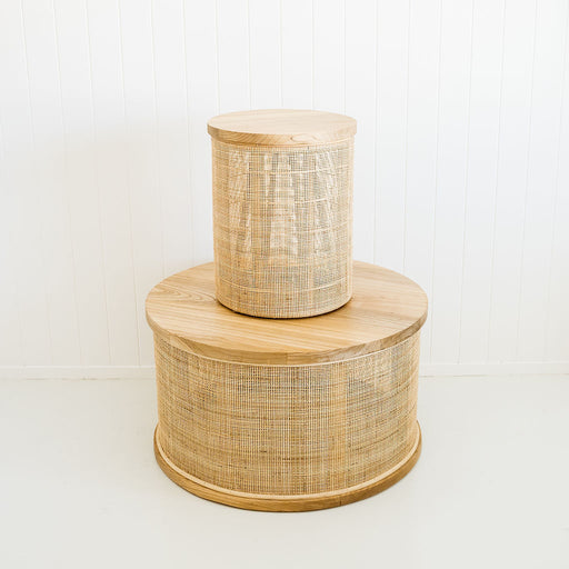 Halo Rattan Side Table