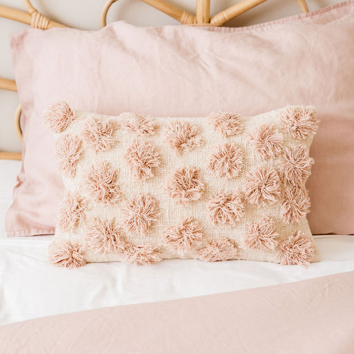 Raffle Cushion Cover- Pink