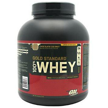 100% Whey Gold Standard Chocolate Coconut 5lb