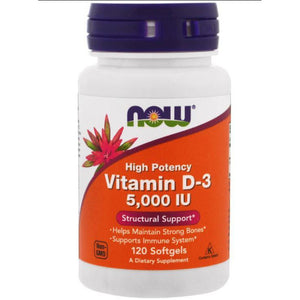 Vitamin D3 5000 IU 120 caps