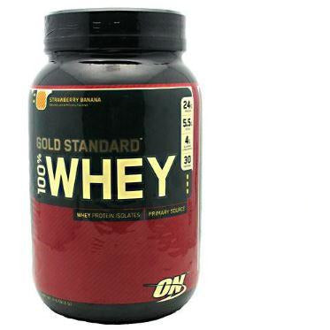 100% Whey Gold Standard Strawberry Banana 2lb