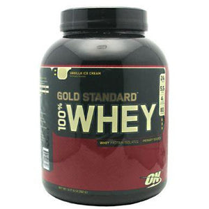100% Whey Gold Vanilla Ice Cream 5LB