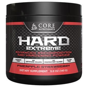 Core Hard Extreme Powder Pineapple Strawberry