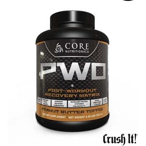 Core PWO Peanut Butter Toffee 4.26lbs