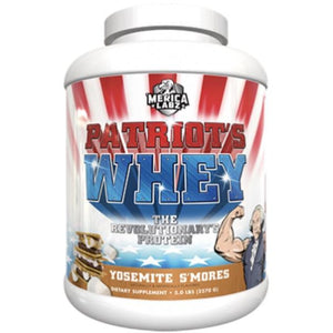 Patriot's Whey Yosemite S'Mores 5lb