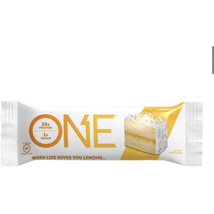 Oh Yeah ONE Bar Lemon Cake indv