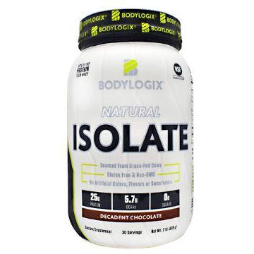 Body Logix Isolate Chocolate 2lb NSF cert