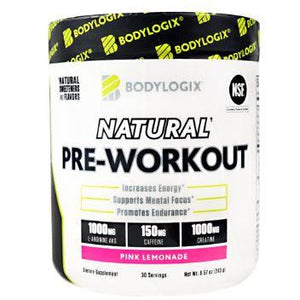 BodyLogix Pre Workout Pink Lemonade