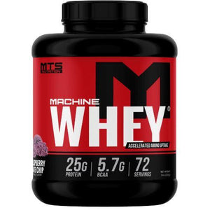 Machine Whey 5lb Black raspberry Choc Chip