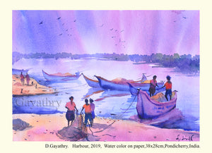 Fishing Harbour, Pondicherry