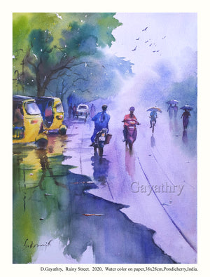 Monsoon in Pondicherry