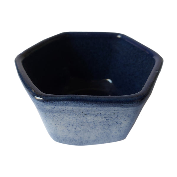 Blue ASP Faceted Bowl