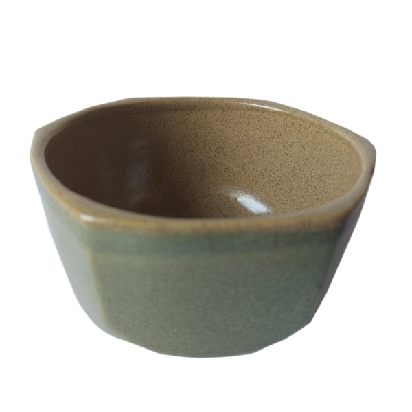 ASP Faceted Small Bowl Light Brown