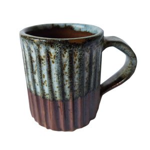 AN Flutted Tea Mug
