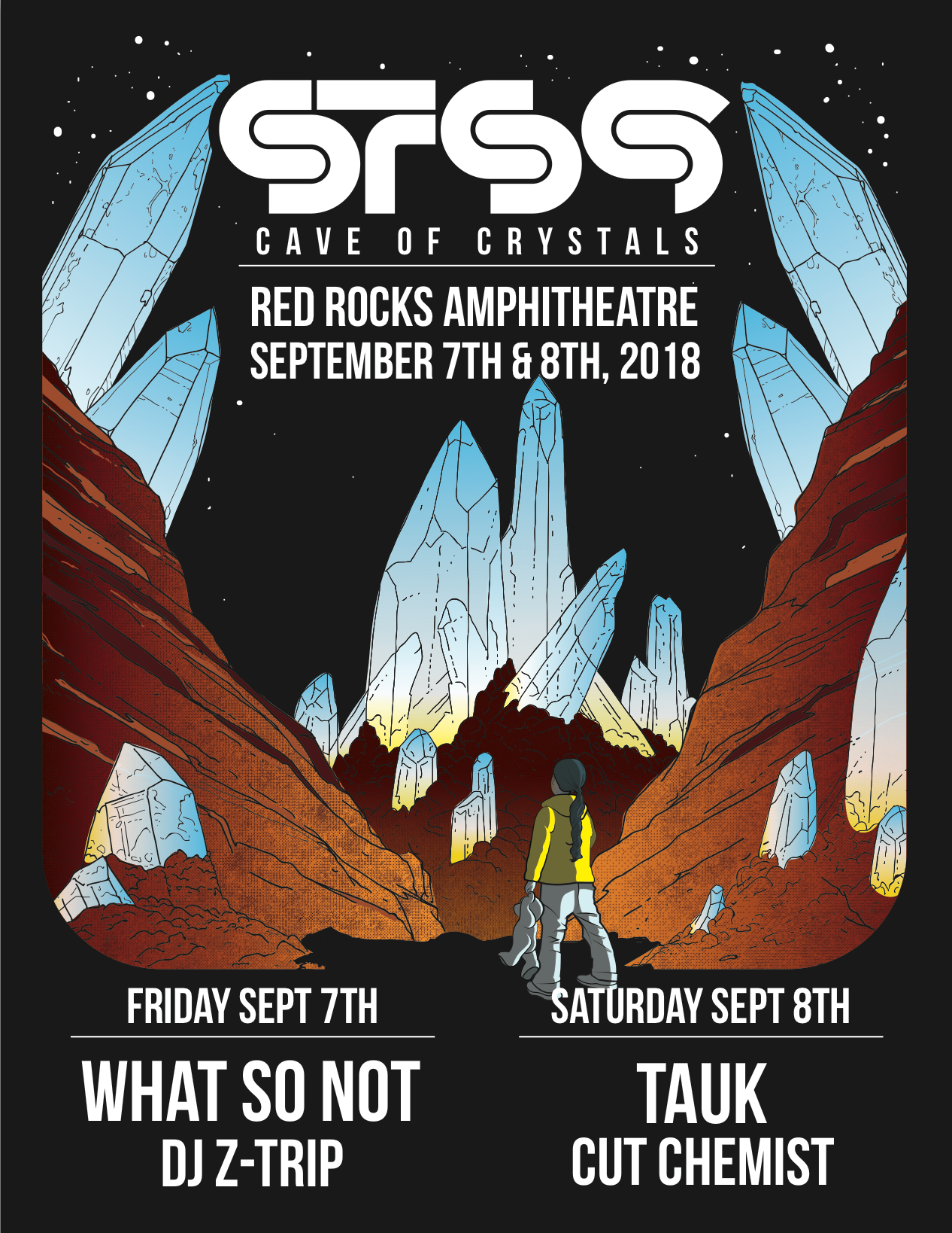 RED ROCKS 2018 - CAVE OF CRYSTALS