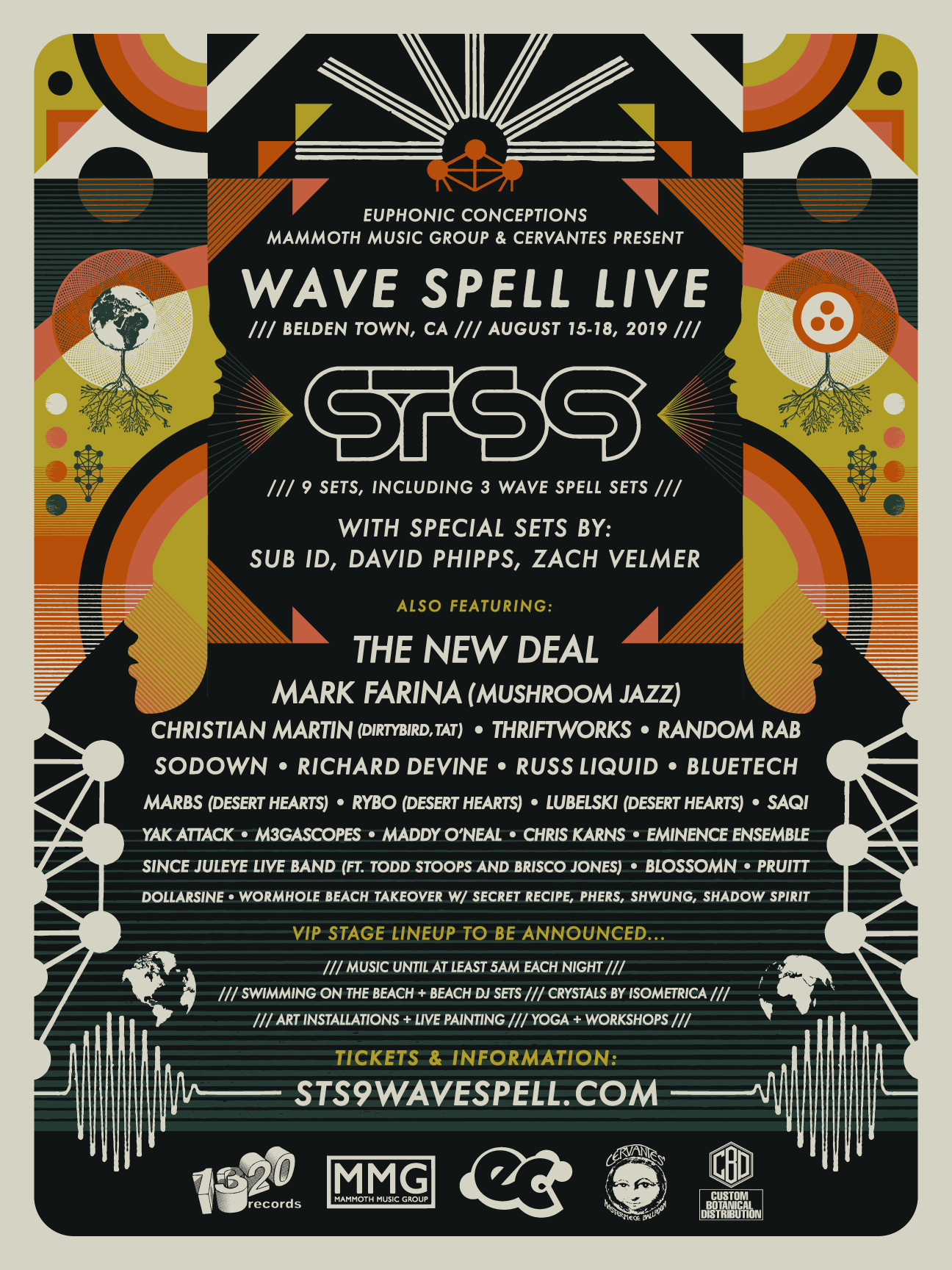 WAVE SPELL LIVE 2019