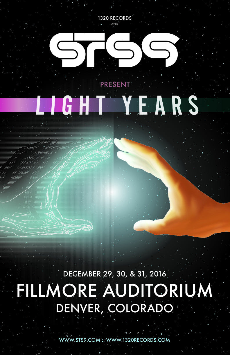 STS9 PRESENT: LIGHTS YEARS - NYE 2016 IN DENVER, CO