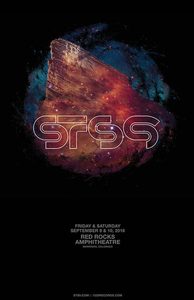 Red Rocks 2016 Poster