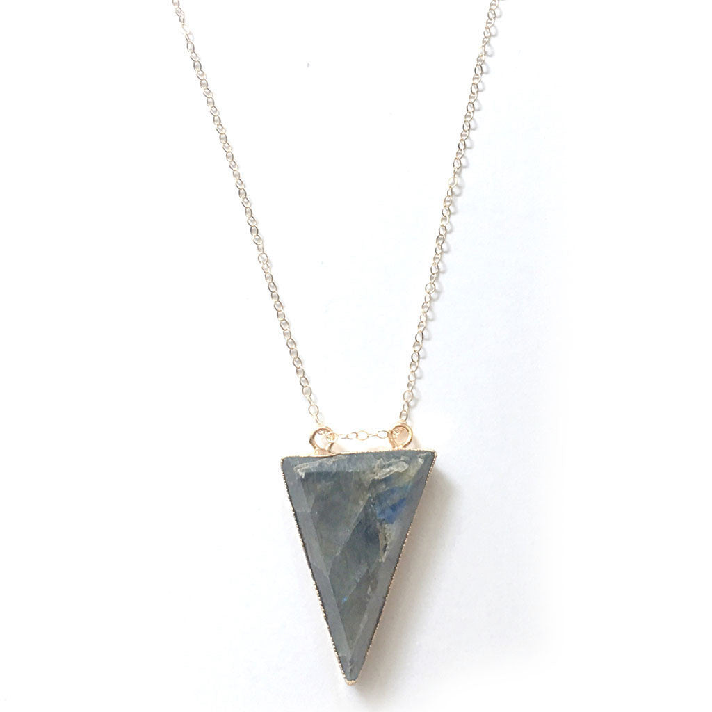 The Universe Inside Labradorite Necklace