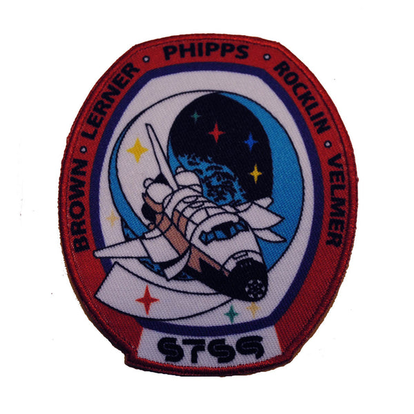 STS9 NASA Patch