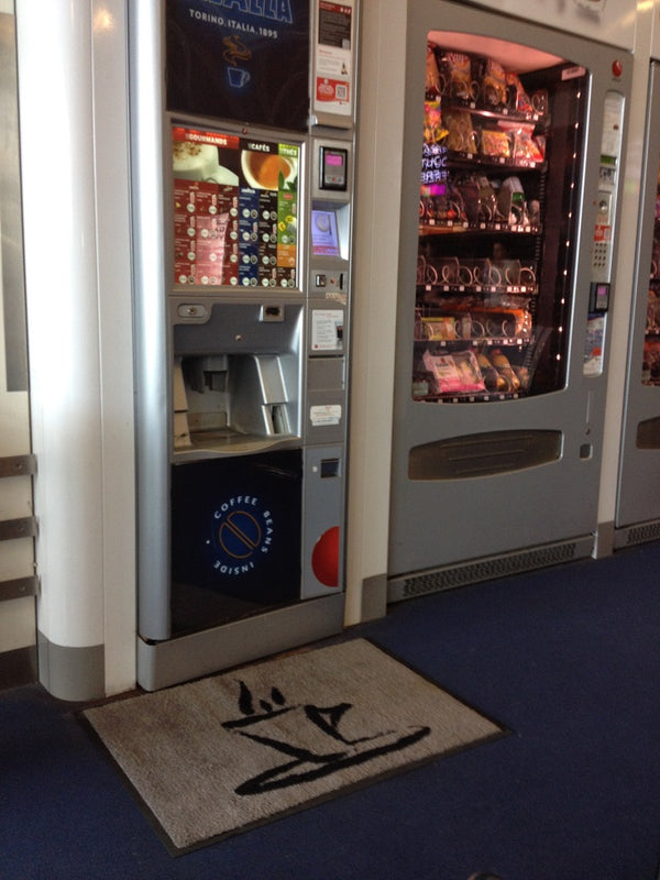Vending Machine Mats from LogoMats.ie