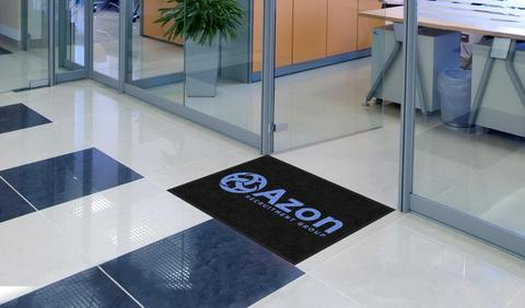 Our logo mats come in a range of standard sizes