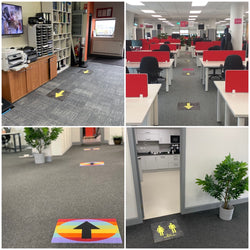 New Social Distancing Carpet Tiles - Milliken's Social Factor