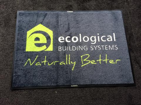 New Logo Mat for Ecological Building Systems