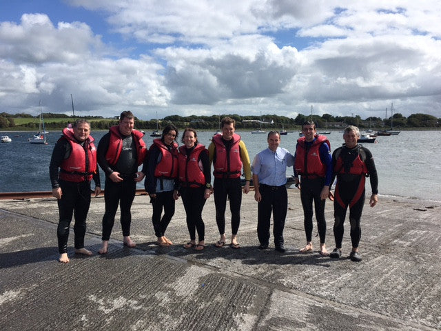 Footfall staff day out at Galway Bay Sailing Club