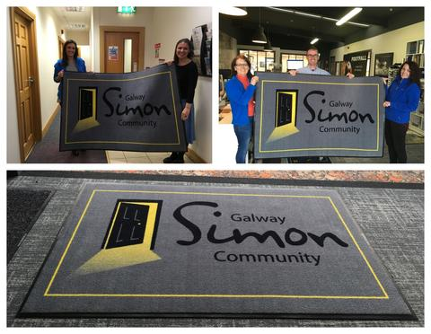 Footfall support Galway Simon Community
