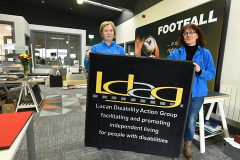 Footfall support Lucan Disability Group