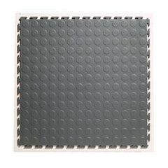 A Studded Rubber Interlocking Tiles