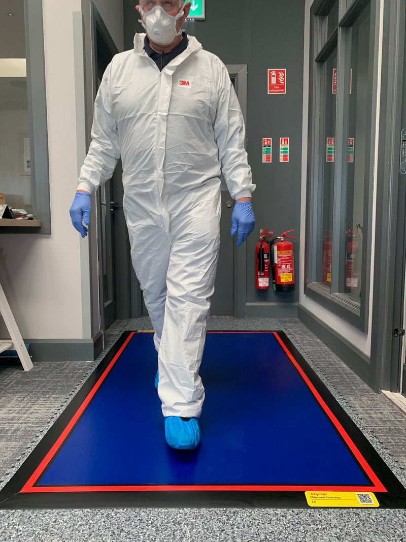 Footfall, Contamination Controlled Floating Mat - Critical Area