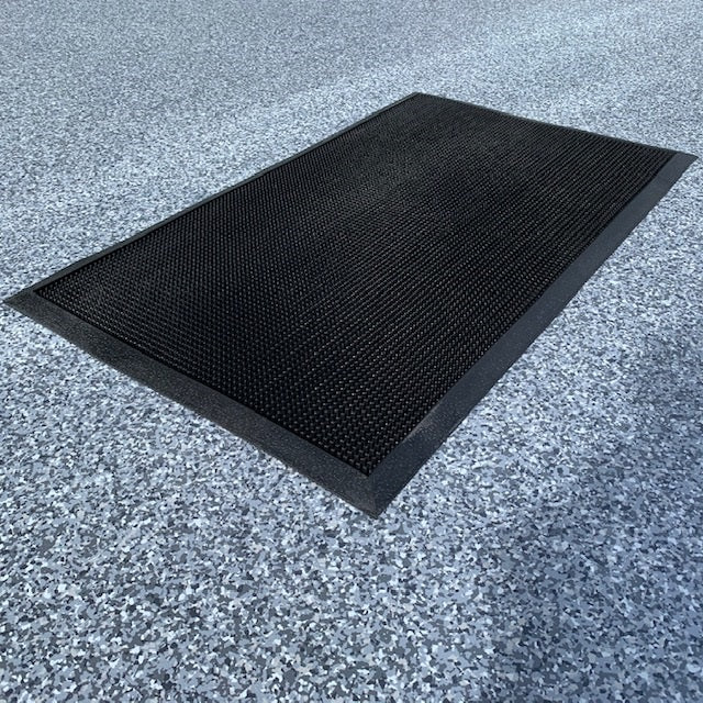 Bunded Contamination Control Mats with Scraper Mat Package