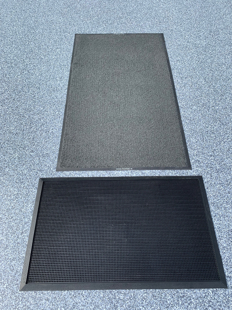 Bunded Contamination Control Mats with Message Mat