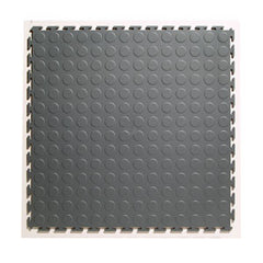 Studded Rubber Interlocking Tiles