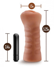 Load image into Gallery viewer, M For Men Sofia Mocha Tan Vagina Stroker by Risque Fetish Toys