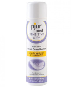 Pjur Med Sensitive Glide 3.4oz Bottle by Risque Fetish Toys