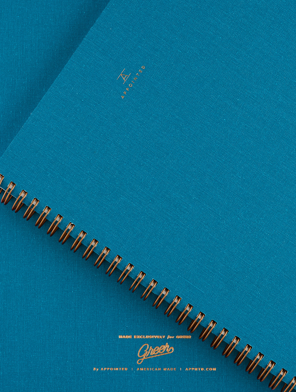 greer x appointed notebook