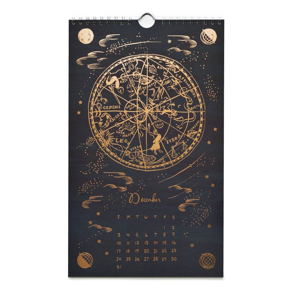 2017 Constellations Wall Calendar By Rifle Paper Co. - 2