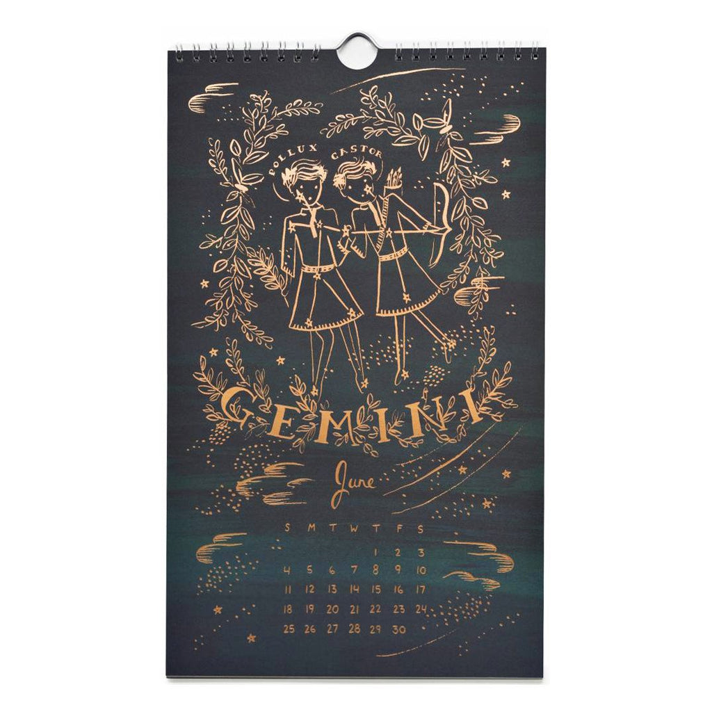 2017 Constellations Wall Calendar By Rifle Paper Co. - 5