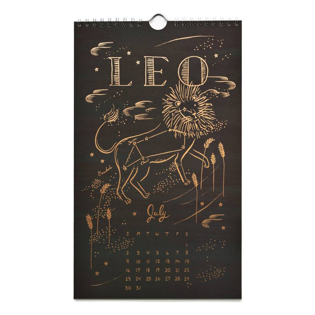 2017 Constellations Wall Calendar By Rifle Paper Co. - 6