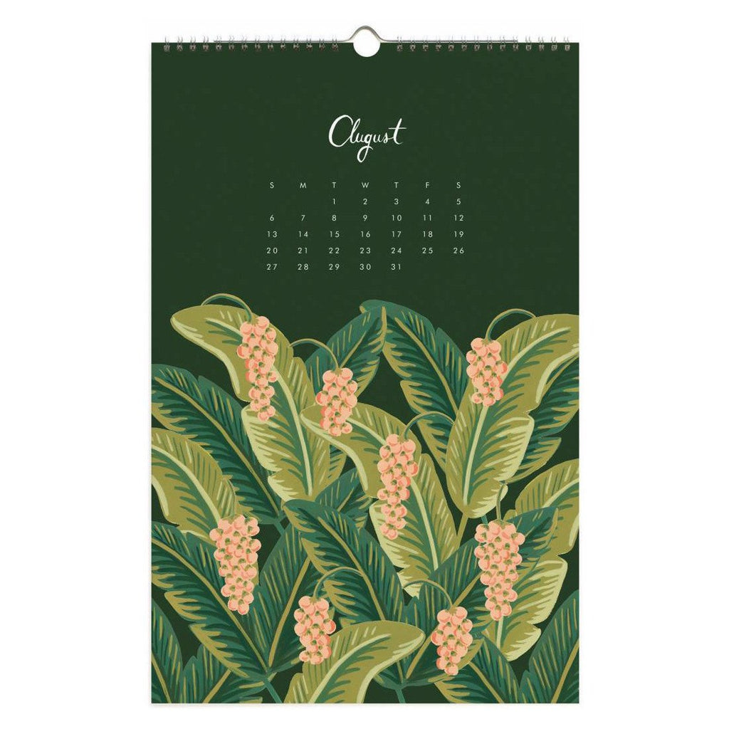 2017 Paradise Gardens Wall Calendar By Rifle Paper Co. - 5