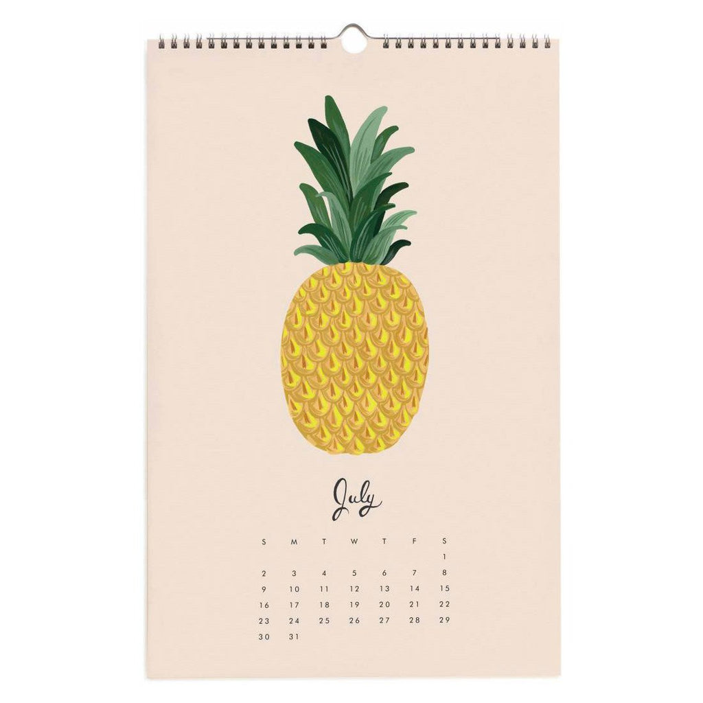 2017 Paradise Gardens Wall Calendar By Rifle Paper Co. - 6