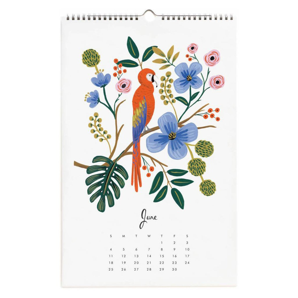 2017 Paradise Gardens Wall Calendar By Rifle Paper Co. - 4
