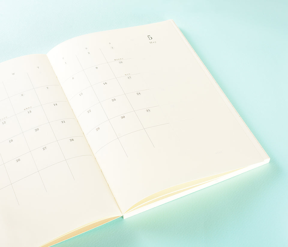 Midori MD Notebook Diary 2020 Planner A5 Thin