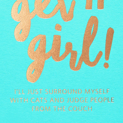 417 Press Get It Girl Greeting Card